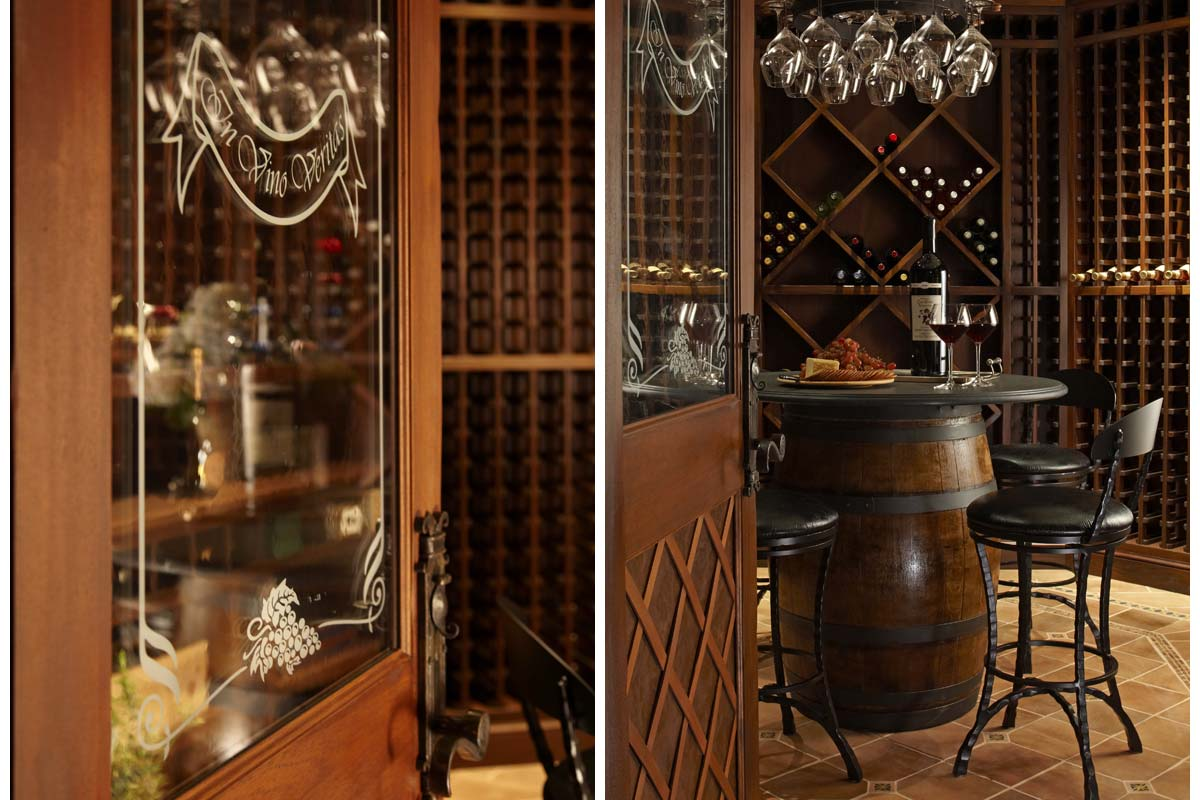 Spaces of Distinction Wine Cellar